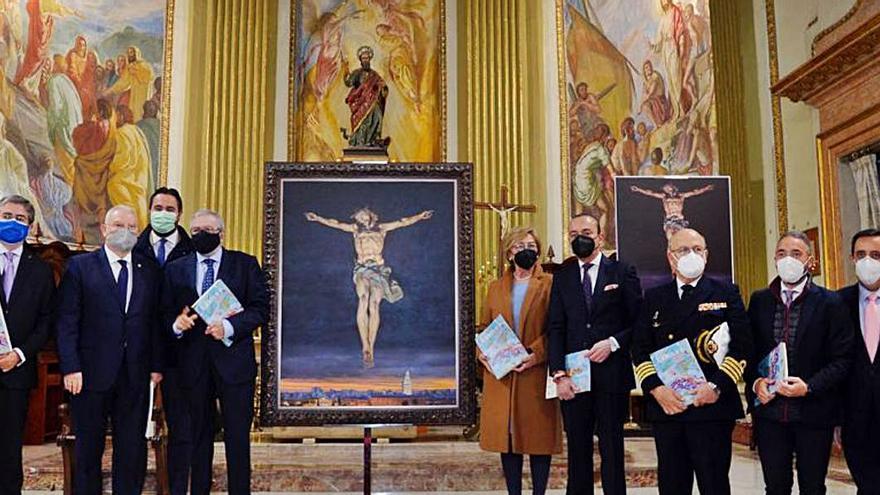 El Cristo del Amparo, en el cartel de Semana Santa
