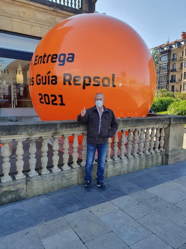 Juan de El Risco en los premios Repsol