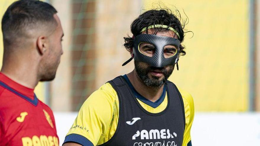 El 'enmascarado' Albiol mantiene la duda