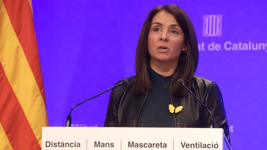 """El Govern reactiva el dispositivo del 14F, pero alerta del """"riesgo"""" sanitario"""