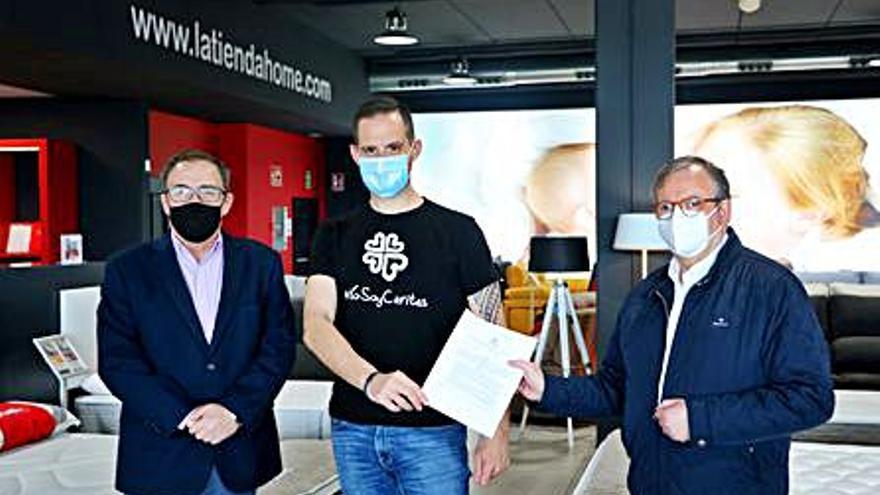 La Tienda Home lanza su mayor proyecto solidario de la mano de Cáritas