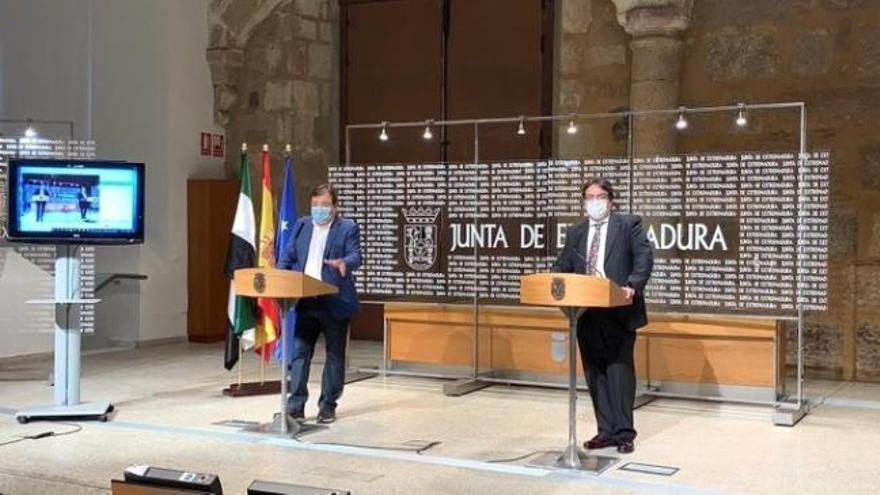 """Fernández Vara: """"Lo lógico es que el estado de alarma fuera para todo el territorio nacional"""""""