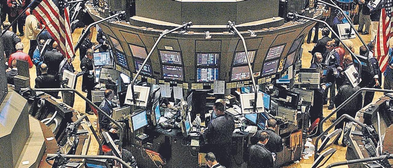 El detenido vendió sus ficticias acciones a través de la Bolsa de Estados Unidos. |
