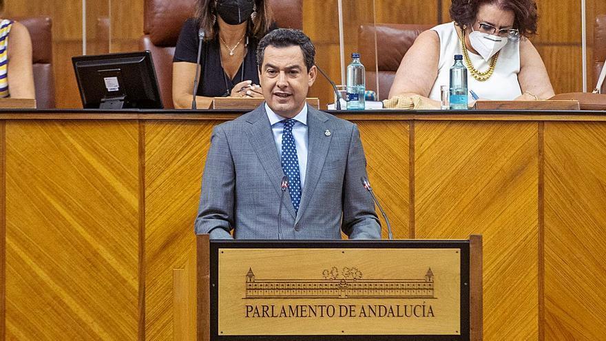 Juanma Moreno anuncia 850 millones de inversión en obras para sanidad