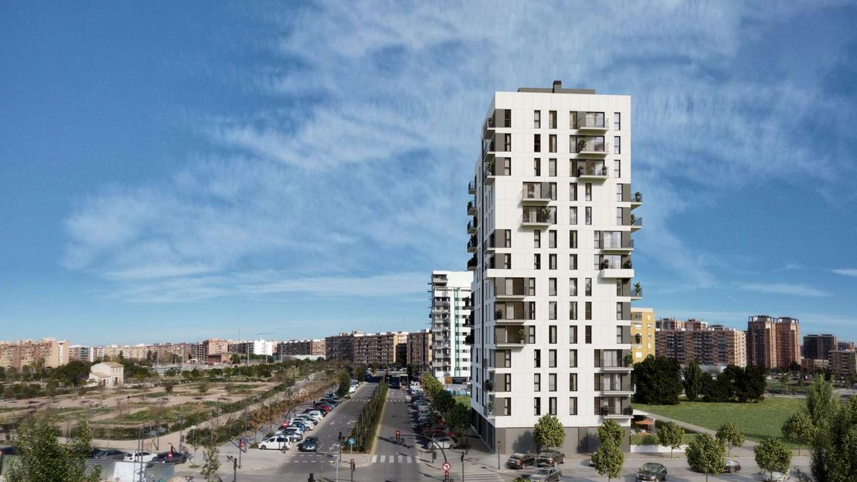 La nueva promoción de Habitat Inmobiliaria ofrece 47 viviendas reconocidas con sellos de calidad.