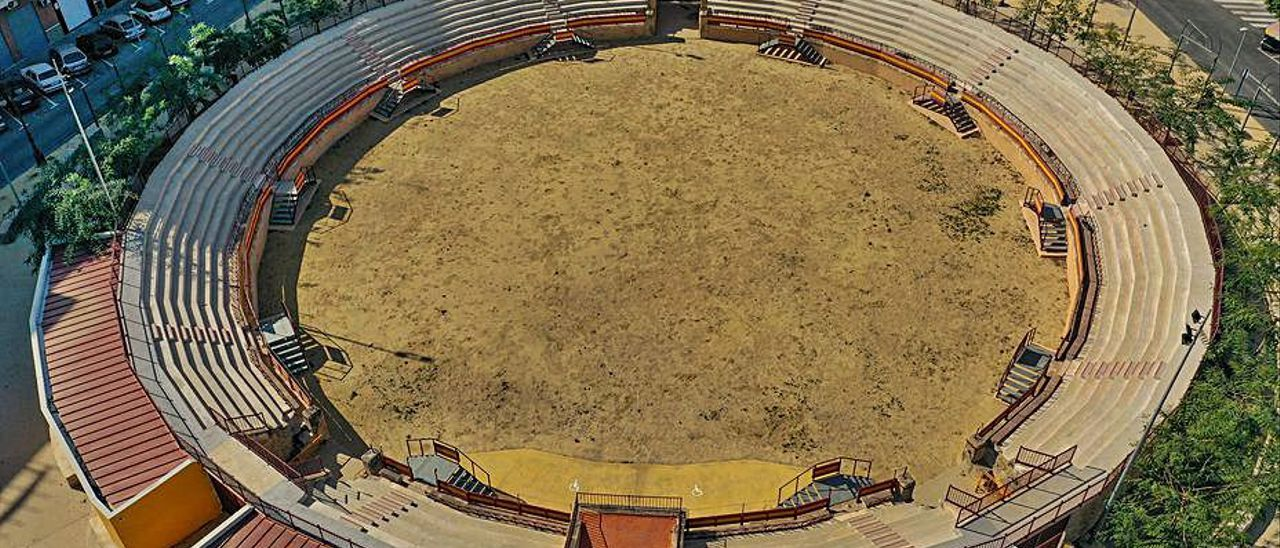 Festividades dice que ultima la apertura de la plaza de toros rehabilitada en 2019 |