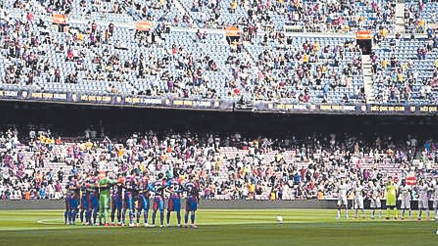 El Govern estatal permet més públic als estadis tot i que Catalunya no hi està d'acord