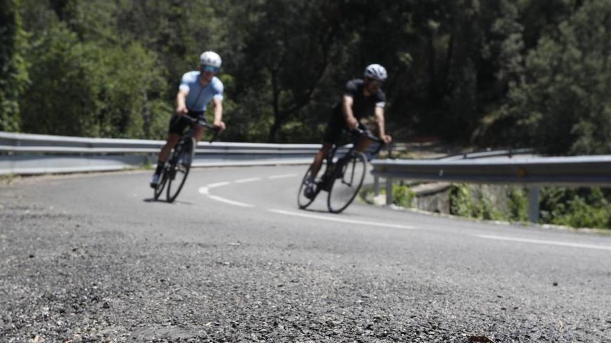 Girona obre la porta a debatre una restricció horària al trànsit motoritzat a la carretera dels Àngels
