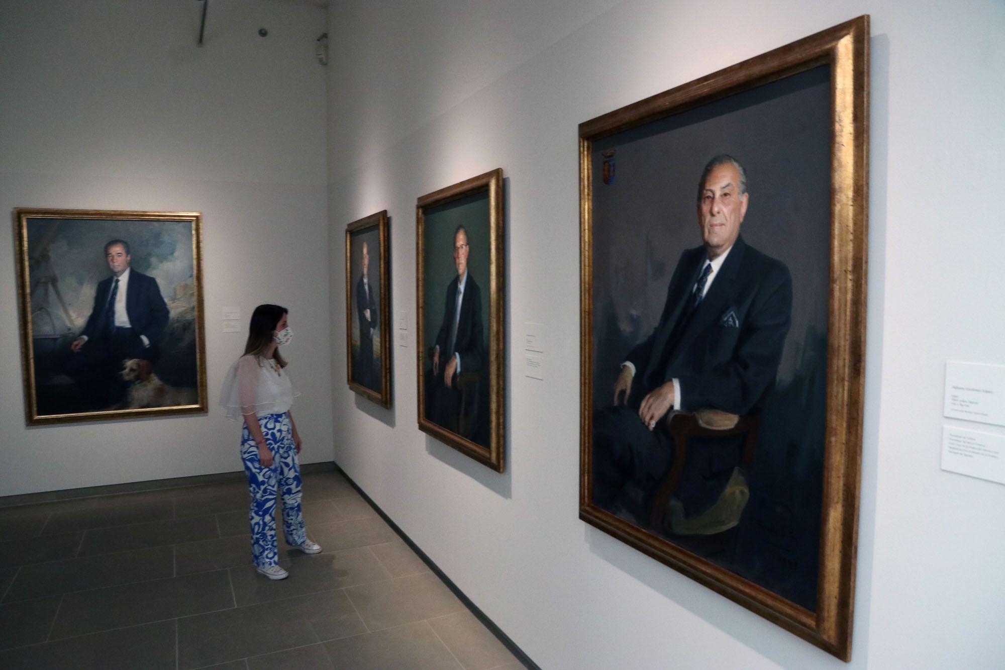 Inaugurada la Exposición 'Banqueros y Empresarios. Retratos de Félix Revello de Toro'
