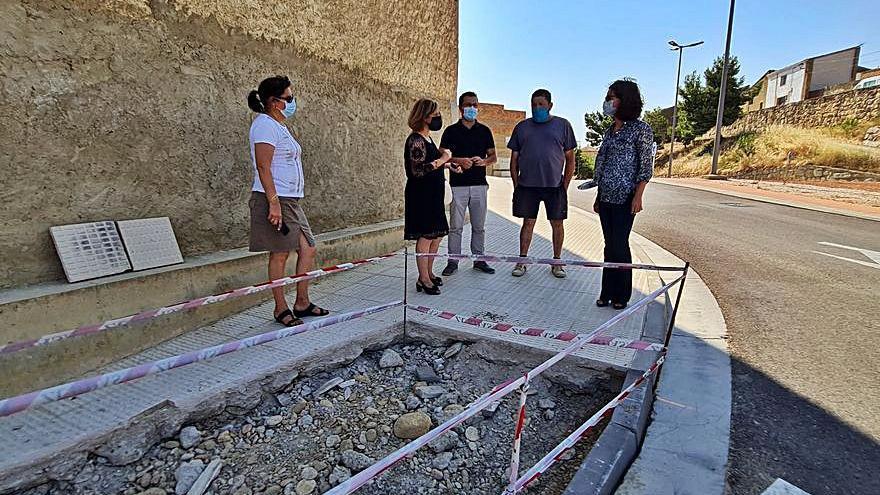 Obras de rehabilitación en El Ensanche y los barrios de Las Eras y La Llana