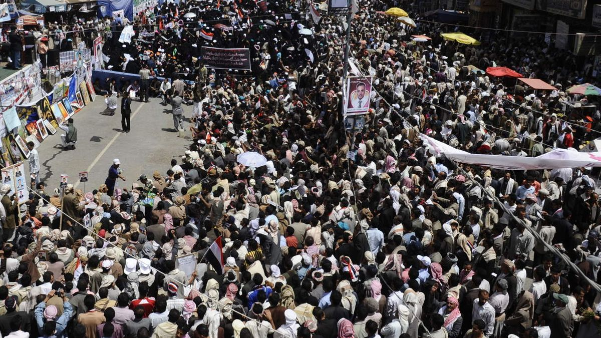 Primavera árabe.