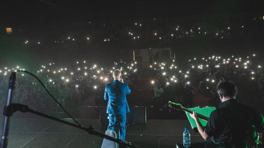 Miguel Jorge, el cantante de  'Armonía Show', vuelve al escenario con un repaso vital