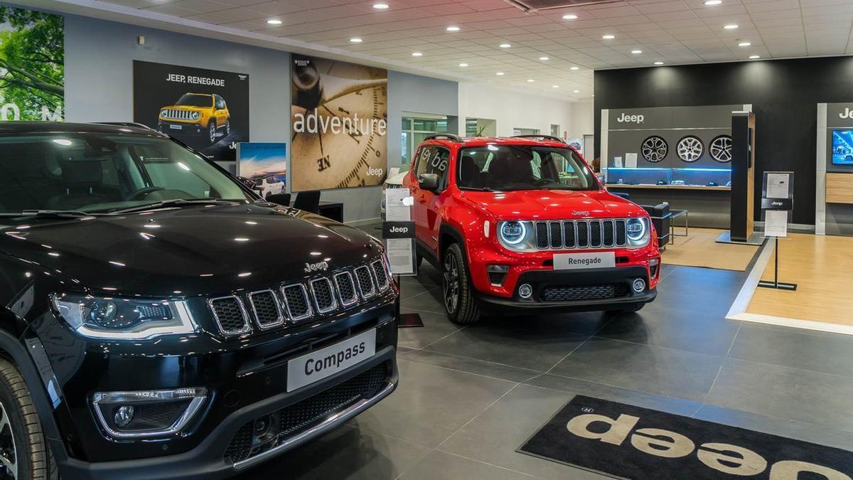 Los nuevos Jeep Renegade y Compass son los protagonistas en Automóviles Nemesio.