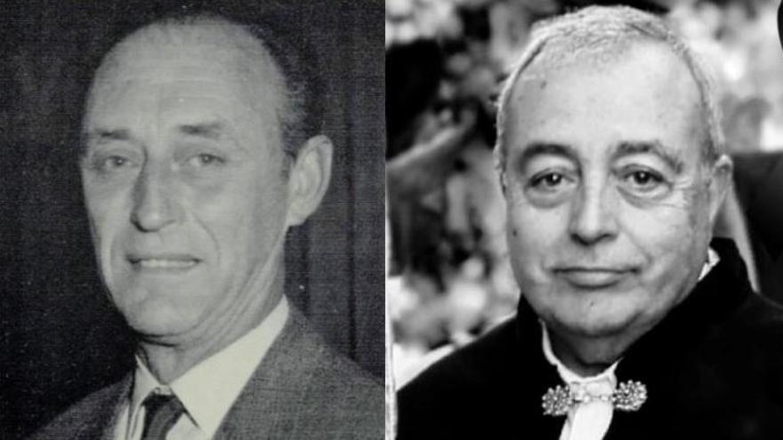 Las fallas del Pilar y Convento pierden a dos grandes testigos de su historia
