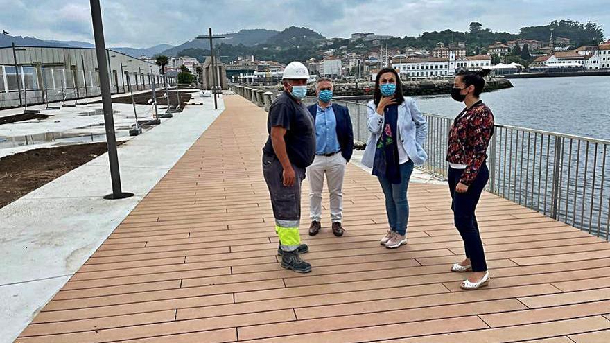 La remodelación del Paseo Alcalde Blanco recuperará la unión de Marín con el mar