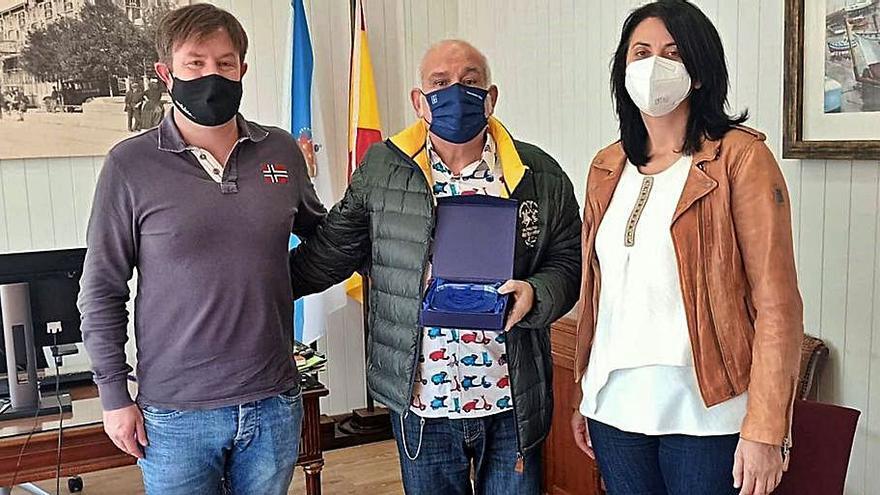 Reconocimiento a Odilo Airas, exdirector del Pedro Barrié