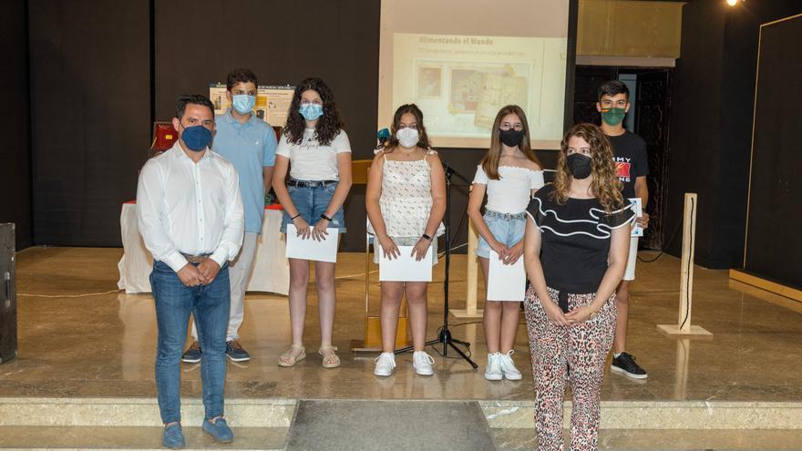 Entregados los premios de los concursos sobre el patrimonio local en Caravaca