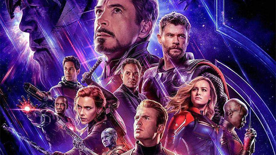 'Vengadores: Endgame', la película más taquillera de la historia