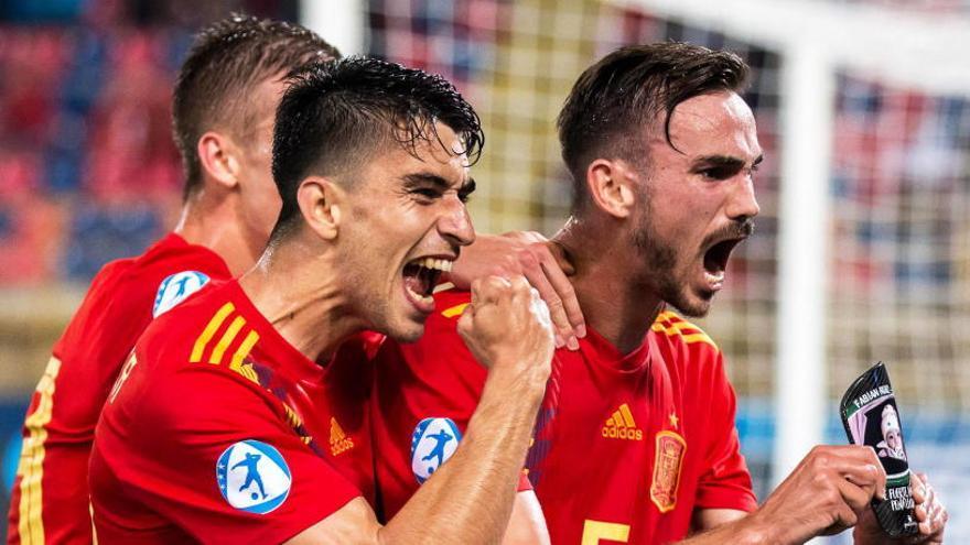 La selección sub-21 busca la revancha ante Alemania