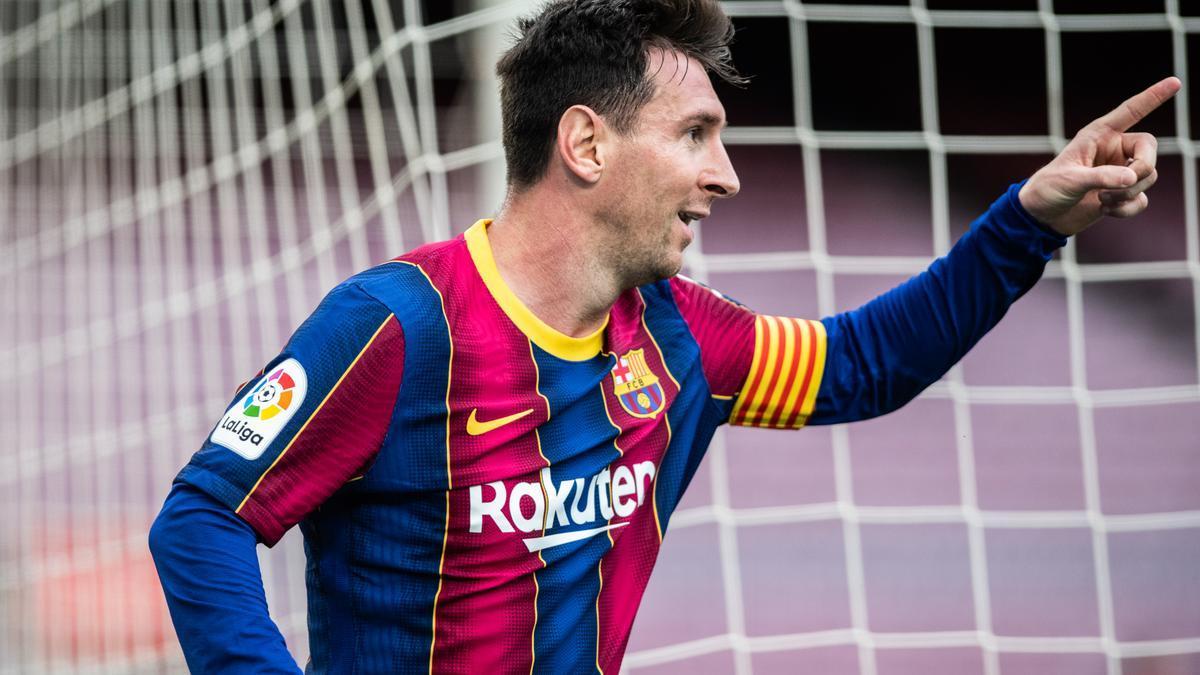 Leo Messi, en un partit d'aquesta temporada