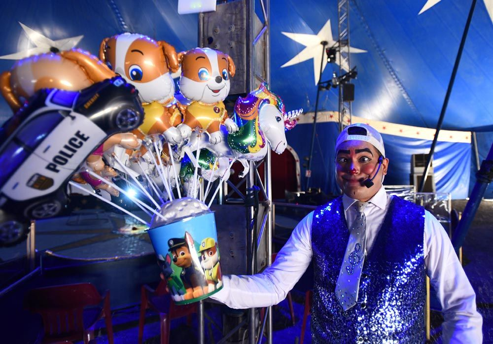 Una tarde de magia en el circo Berlín