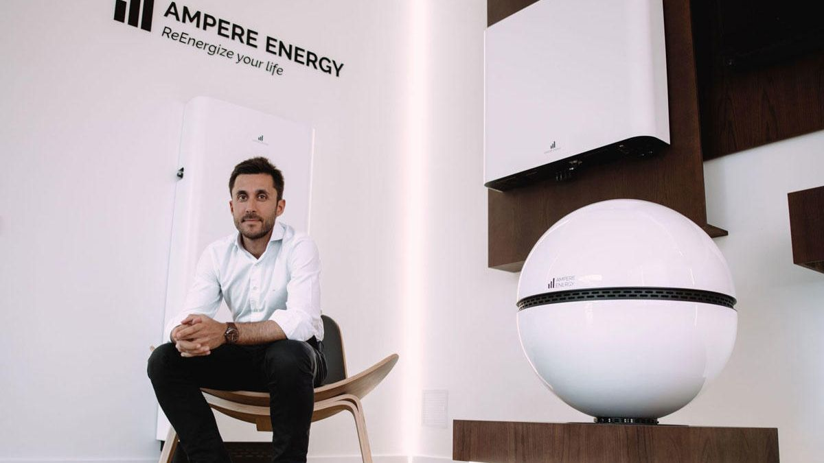 Ignacio Osorio, CEO de Ampere Energy.