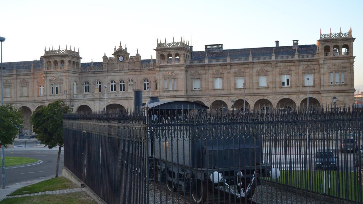 Estación de trenes de Zamora.