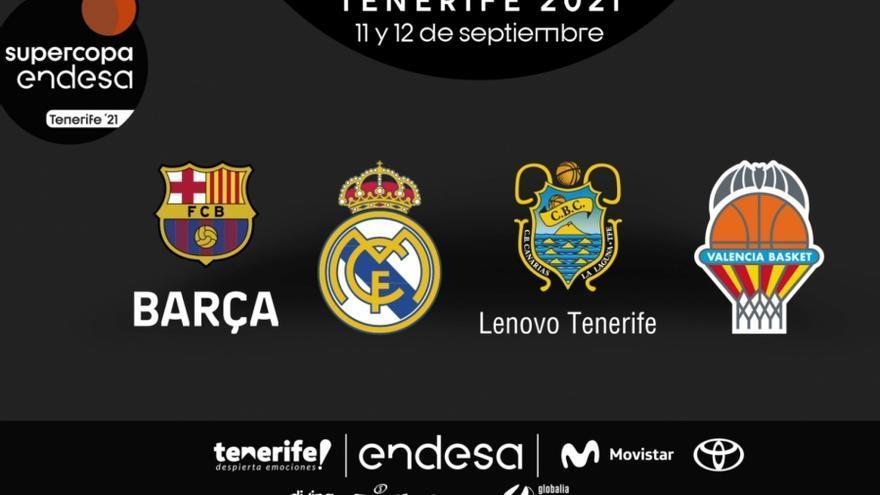 La Supercopa se jugará en Tenerife