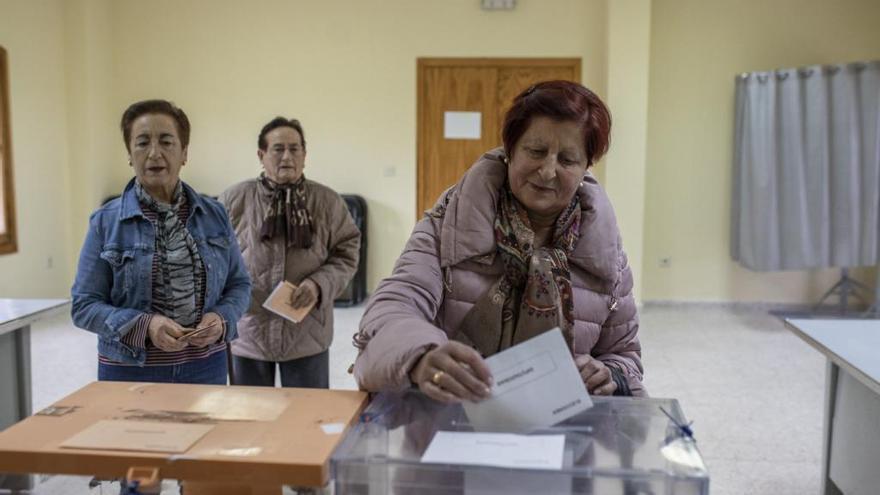 La participación sigue a la baja en Zamora