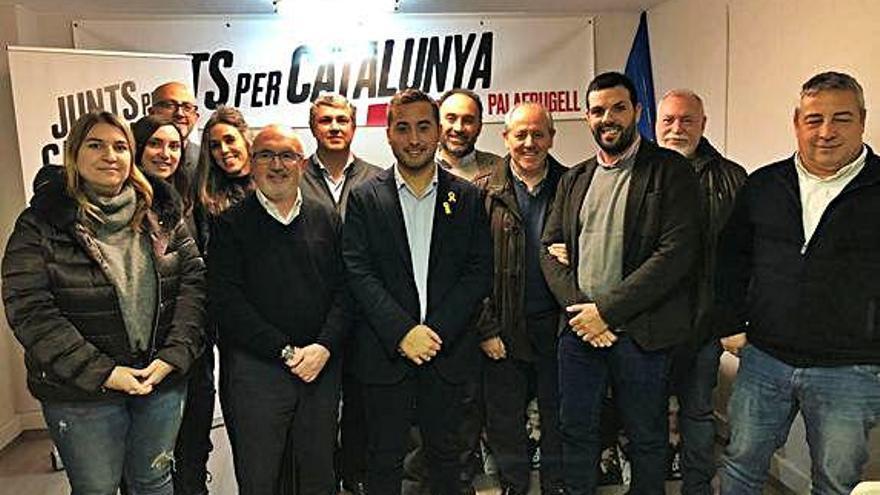 Palafrugell Èric Torres, nou president de JxCat
