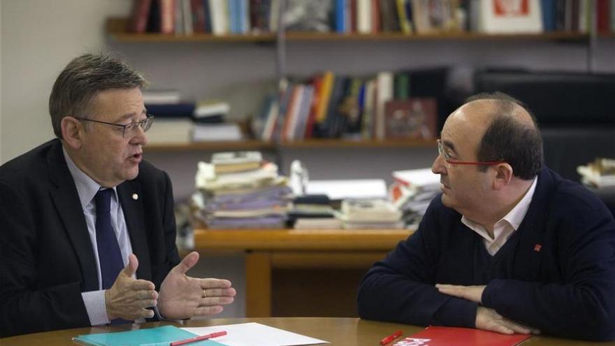 Puig apoya la propuesta de Iceta de financiación por una cuestión de justicia