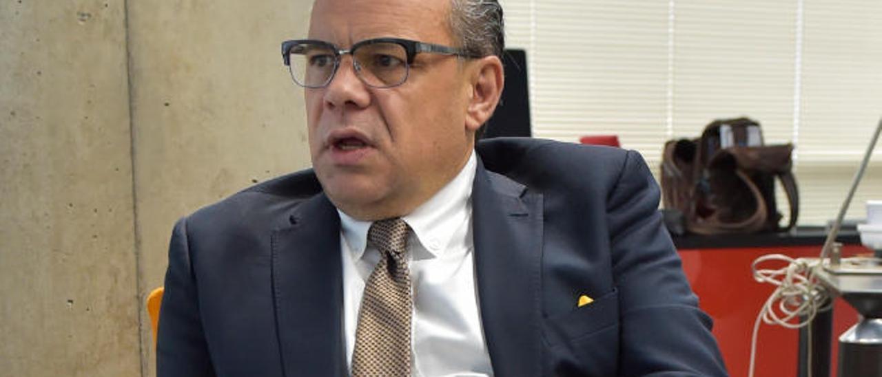 El consejero José Miguel Barragán.