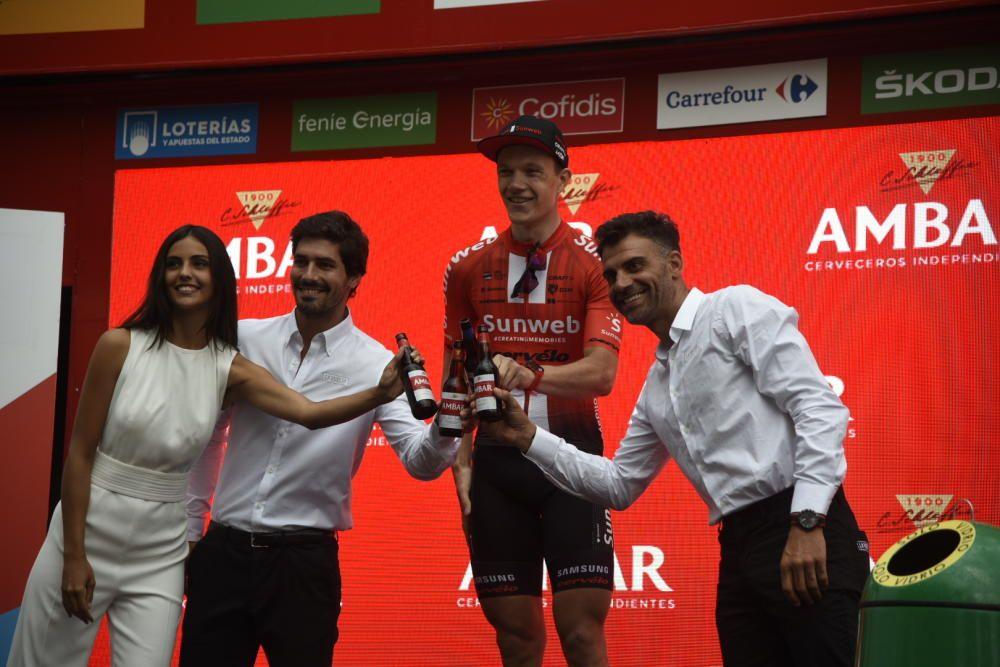 La Vuelta creua el Bages i l'Anoia