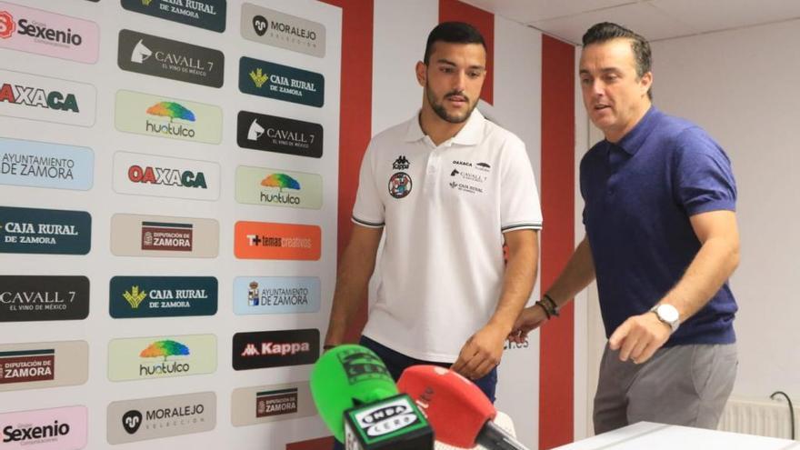 Raúl Vallejo, segunda cara nueva del Zamora CF