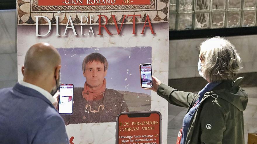 Gijón lanza una innovadora aplicación en los móviles para difundir su pasado romano