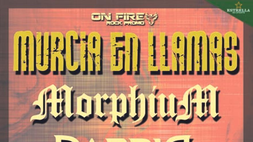 Murcia en llamas