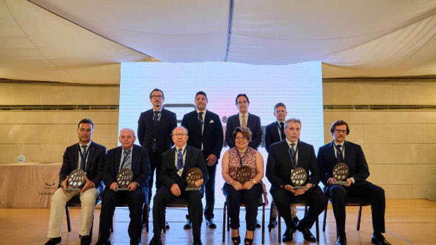 El CEST cumple 20 años y rinde homenaje a sus expresidentes