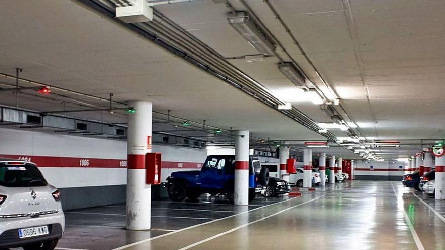 Los aparcamientos de la SMAP de Palma recuperan el 26% de su actividad en el primer semestre