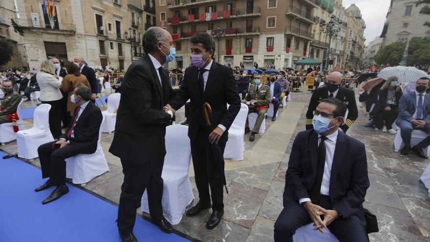 Camps, Mazón, Català y Bonig coinciden en la Missa d'Infants