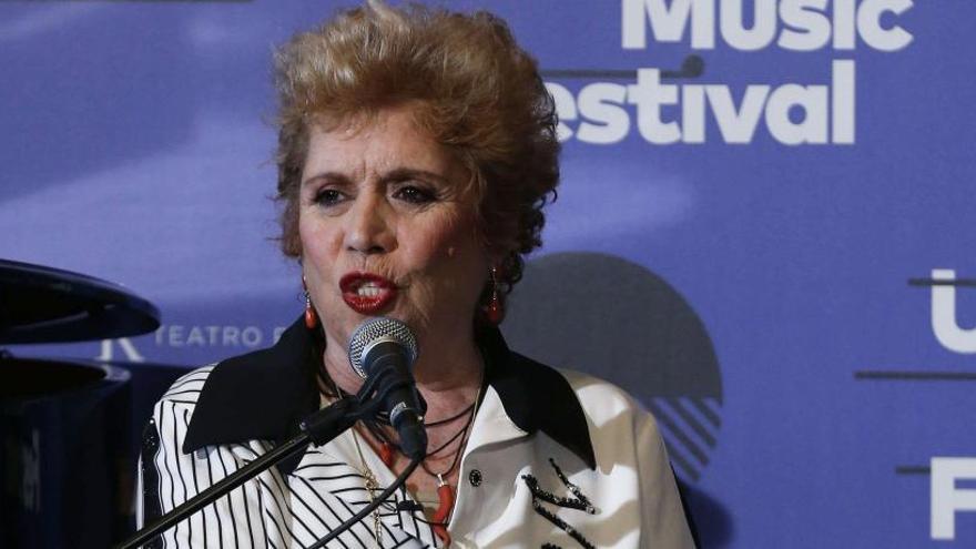 """María Jiménez: """"Cantar en un escenario es un orgasmo"""""""