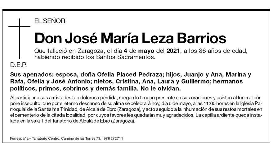 José María Leza Barrios