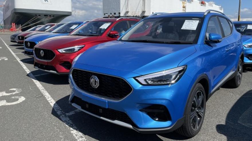 Más de 500 unidades del MG EHS Híbrido Enchufable llegarán a España a partir del 10 de septiembre