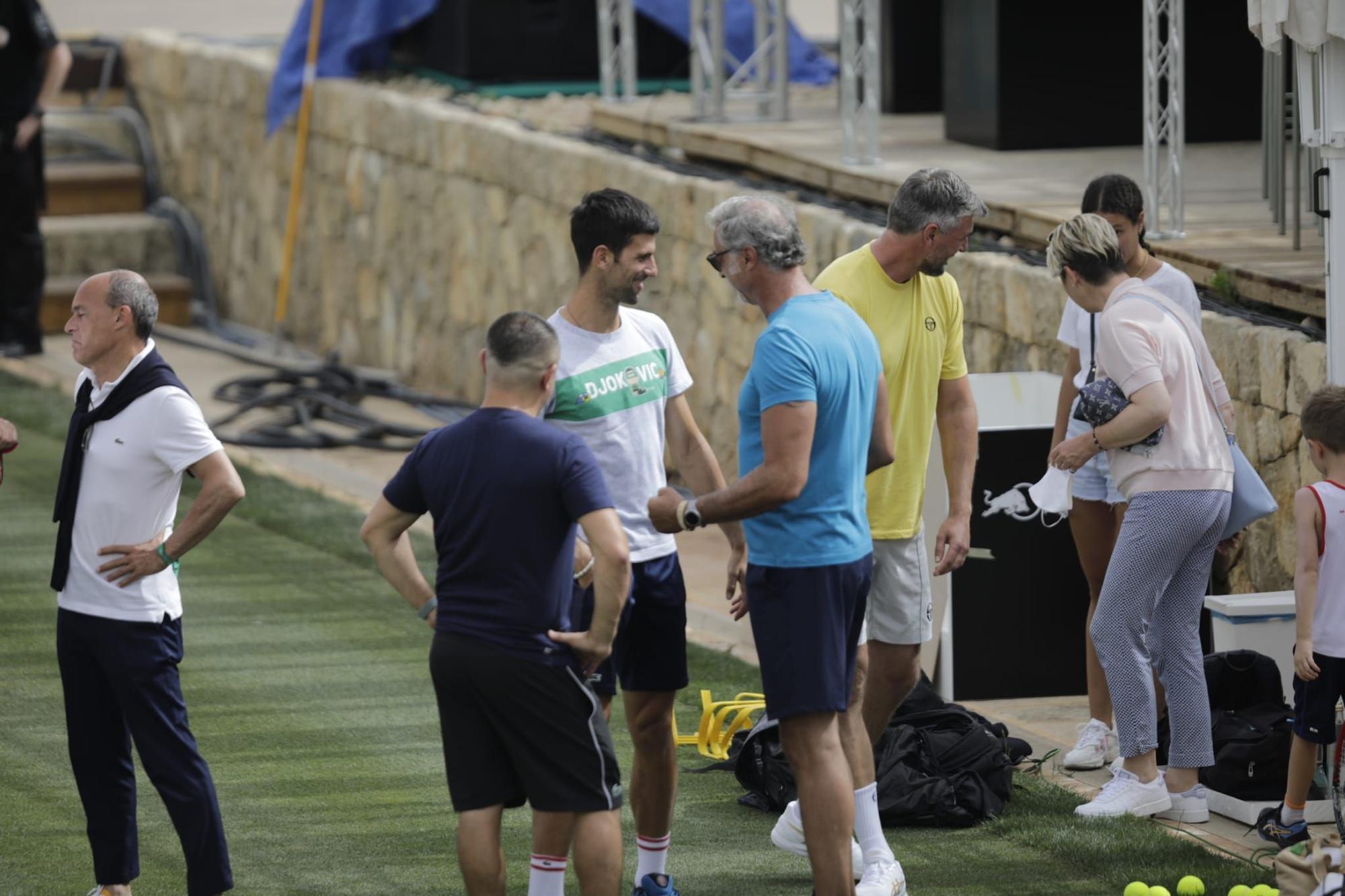 Djokovic ya está en el Mallorca Championships