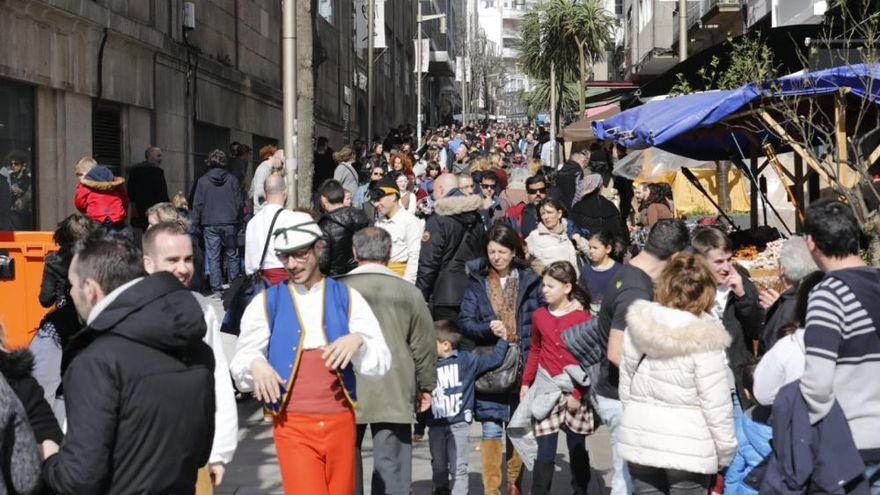 Reconquista Vigo 2018   Los franceses exprimen sus últimas horas en Vigo