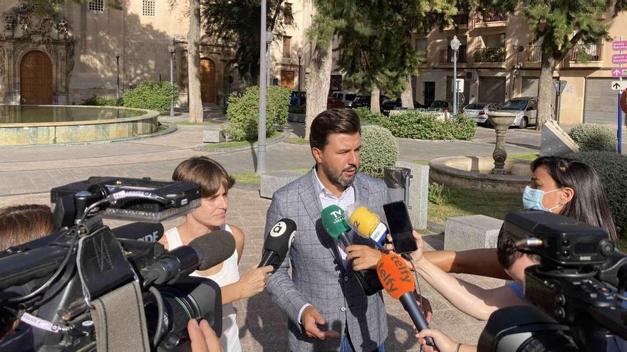 """Cs tacha de """"autoritario"""" a Bascuñana y dice que las acusaciones a Boné son """"inaceptables"""""""