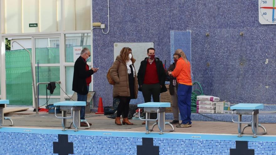 Finalizan las obras de reparación de la cubierta de la piscina cubierta de Benavente