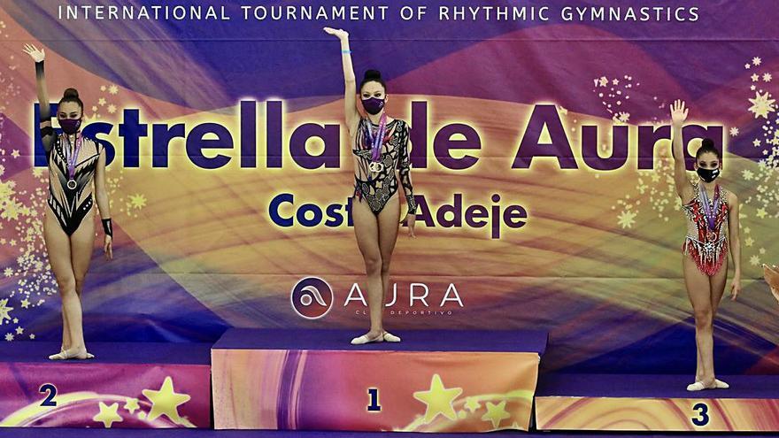 El torneo 'Estrella de Aúra' se estrena con éxito en Adeje