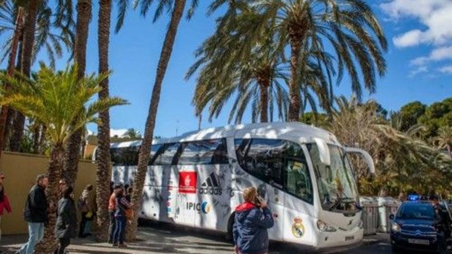 El Madrid llegará el viernes por la tarde y se alojará en el hotel Port Elx del Parque Industrial
