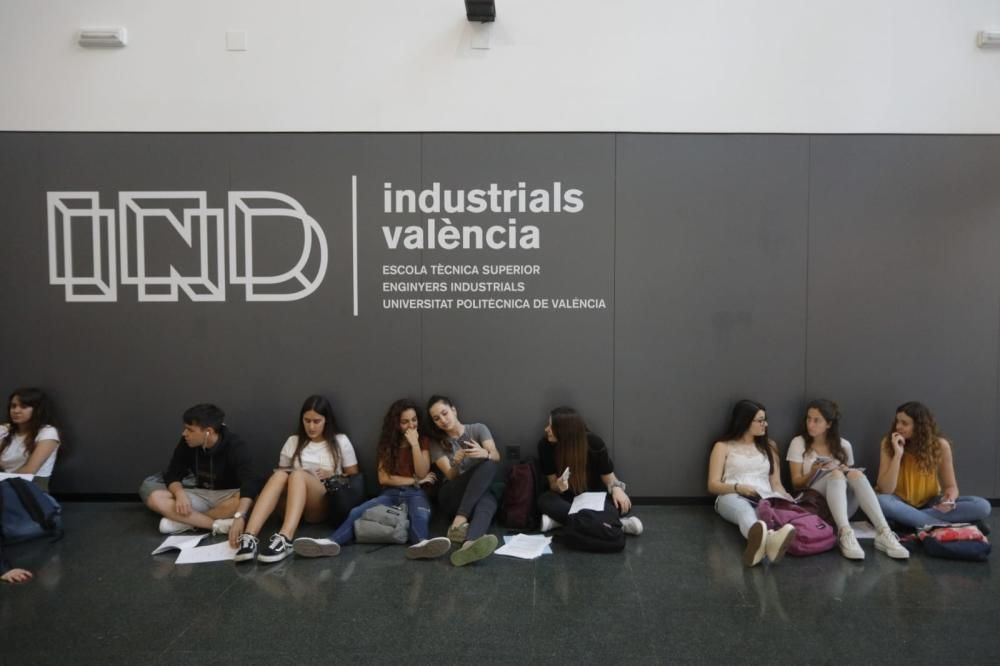 Selectividad 2019 en València