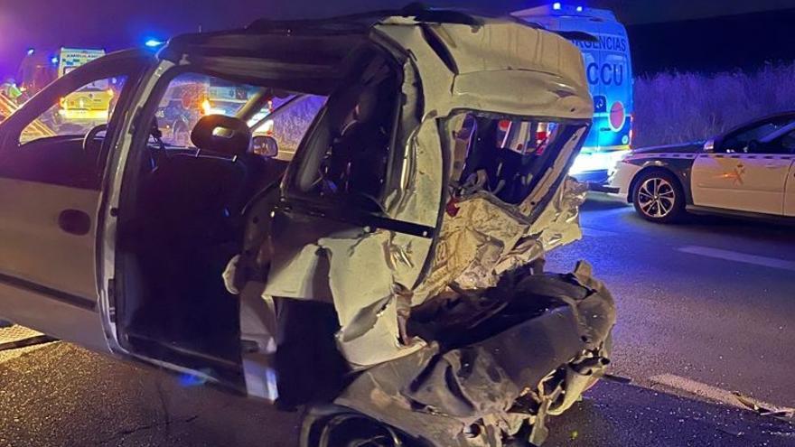 Un fallecido en una colisión entre tres vehículos en la A-4 a la altura de Montoro